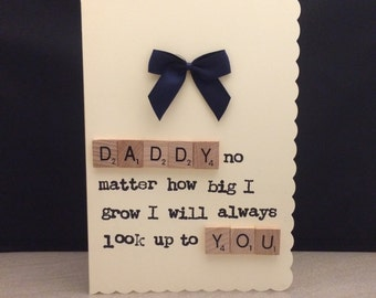 Birthday Fathers Day Christmas Card