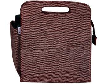 PEKE Juco/Jute eco friendly Reusable Lunch Bag