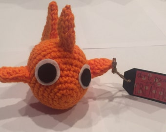 Adorable Crochet Goldfish