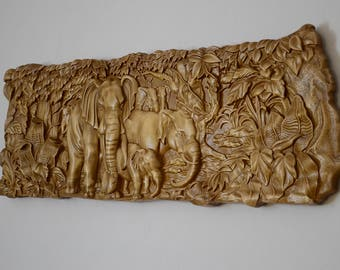 3D Wood/Art Carving/ Wall Picture/Home wall decor