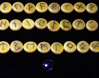 Glass Rune Set
