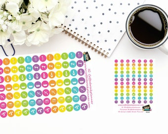 """Planner Stickers Pampering """"Me"""" Dot Icon Stickers Selfcare Stickers For use in various paper planners and journals I003 and I003-M"""