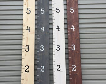Growth Chart Ruler / Grow Stick / Grow Chart / Measuring Stick / Wood Measuring Stick / Baby Shower / Gift Item / Birthday Gift