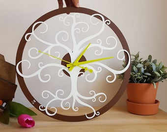 Wall Clock Tree Clock