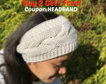 Knit headband, Winter headband, Ear warmer, winter knit headband, women winter headband