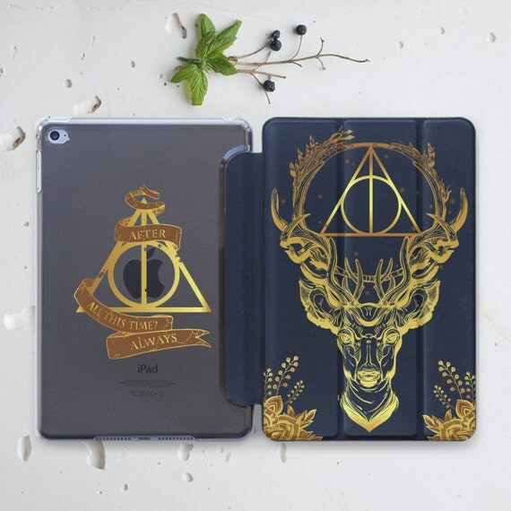 Harry Potter iPad Air Clear Case Deathly Hallows iPad Mini Case Hard Case iPad 4 iPad Pro 12.9 Case iPad Sleeve iPad Mini 2 Case Smart is006