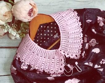 Crochet collar Detachable collar Retro party Cotton collar Lace crochet collar Hand clothes Crochet necklace Knitting collars Dress