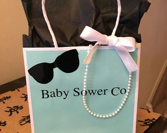 6 baby shower co  gift bags