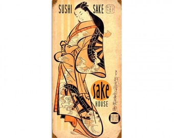 Sushi Sake Lady