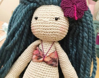 Mermaid - Crochet Mermaid Doll 16-18 inches