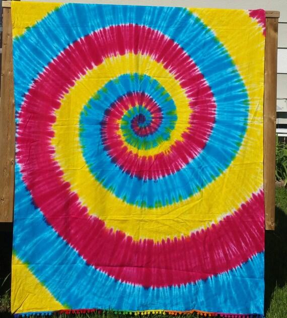 Space Wall Tapestry, Beach Blanket, Wall Tapestry, Hippie Tapestry, boho tapestry, Tie-dye Sheet, Tie-dye Tapestry, Christmas gift