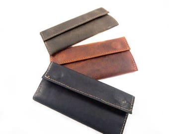 12g-15g  LEATHER TOBACCO POUCH