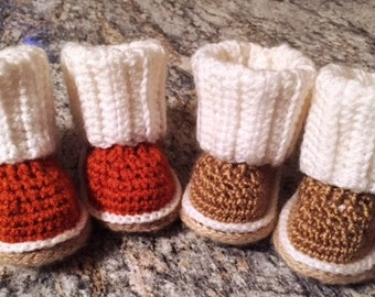 Ugg Style Baby Boots