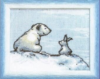 Cross Stitch Kit Chat