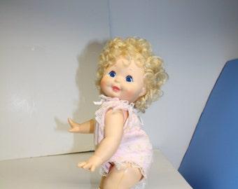 Kenner Baby Upsy Doll Pull String 1985