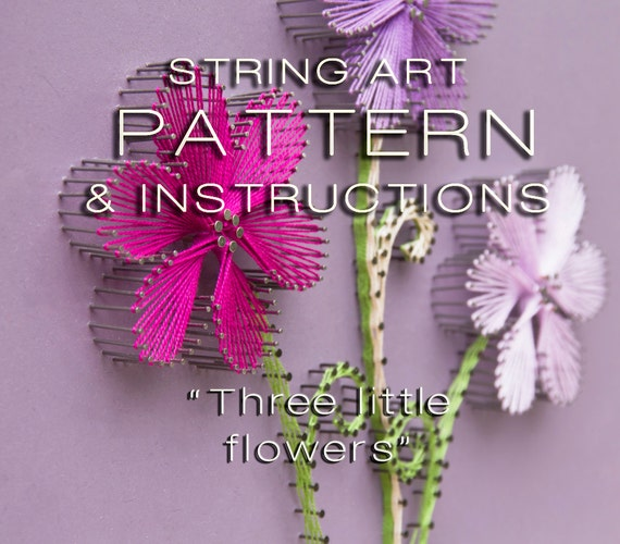 Nerdy image for free printable string art patterns with instructions