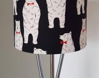 Posh Bear Bow Tie Lampshade Quirky Original Shades