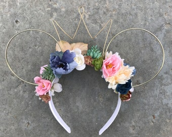 Patchwork Desert Dreaming Floral Wire Ears
