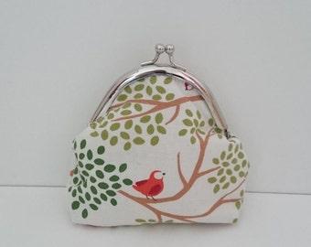 Purse in Bird on Tree Design