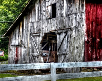 Old Barn in Boone NC