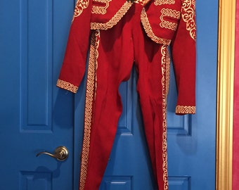 1940's Genuine Red Matador Costume