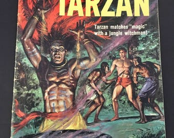Edgar Rice Burroughs' Tarzan #125 (Jul-Aug 1961, Dell)
