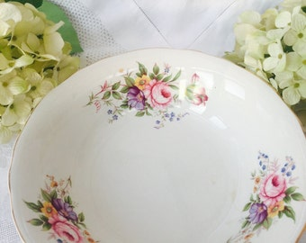Delightful Large Floral Vintage Old Foley James Kent Bowl, 'Chinatone' Bowl