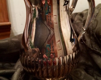 Vintage 1950's Silver Plated Newport Pitcher