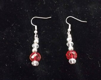 Red Robin Earrings