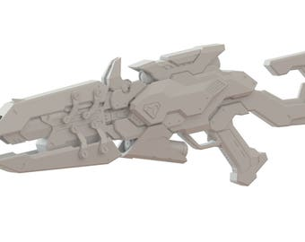 Talon 3d printed Widowmaker rifle