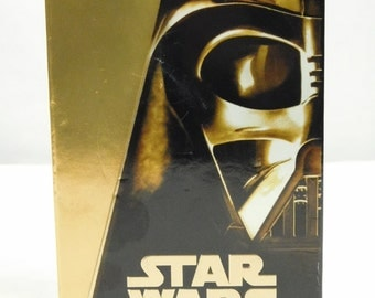 Star Wars Trilogy Set of 3 VHS 1997 Special Edition Gold Box Set Previously Viewed Lucas Film Sci Fi Carrie Fisher Videos  Harrison Ford
