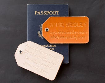 Leather Luggage Tag Personalized, Leather Luggage Tag, Leather Luggage Tags, Luggage Tag, Custom Luggage Tag, Engraved Luggage Tag,