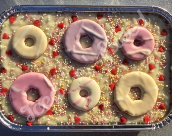 Party Ring Fudge Tray - handmade to order