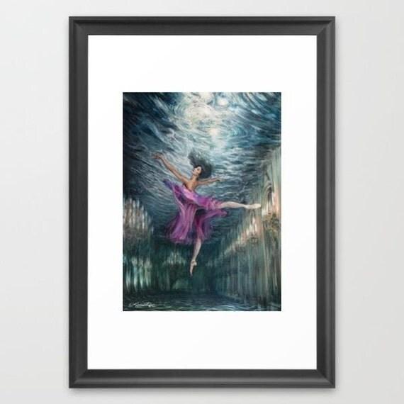 Arabesque - Framed Paper Print