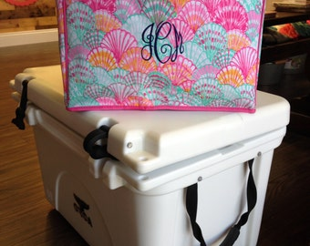 Monogrammed Lilly Pulitzer Cooler, Insulated Cooler, Cooler for Her, Monogrammed Gifts