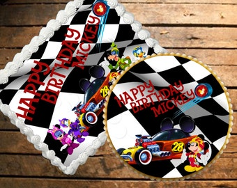 Mickey & The Roadster Racers Edible Cake Topper