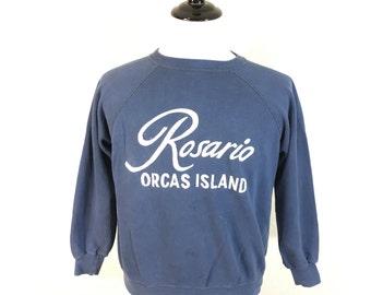 60's vintage hanes short sleeve sweatshirt by ILLEGALMONKKYVINTAGE