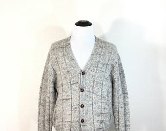 80's pendleton 100% wool cardigan made in usa size L