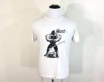 rare 80's vintage stephen cepello wrestler 50/50 blend t-shirt