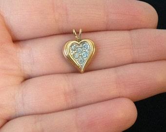 Heart Jewelry - Heart Pendant - Heart Jewellery - Love Jewelry - I Love You - Love Gift - Heart Gift - Vintage - Pendants - Heart Necklace