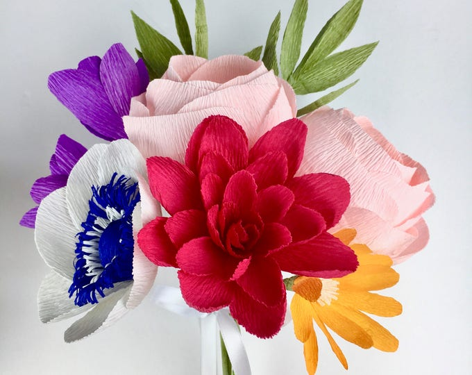 Sammy Paper Flower Bouquet