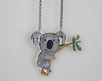 Koala Tree Pendant + chain