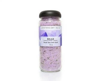Relax Dead Sea Salt Soak - Lavender/Bergamot