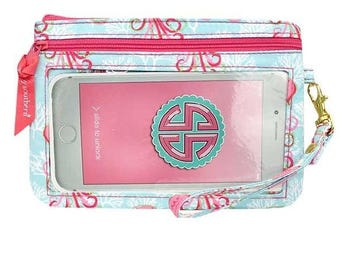 Simply Southern Phone Wristlet Wallet-Jellyfish