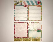 Good Times Notes Page Kit Vertical & Horizontal Planner Stickers for Erin Condren Life Planners