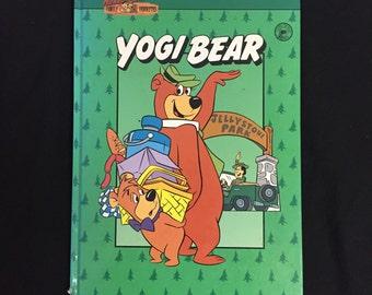 Hanna Barbera Family Favorites Yogi Bear Hardcover Childrens Book 1991
