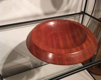 Bowl - Large Mahogany bowl
