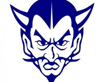 Gate City Blue Devil SVG Vector File