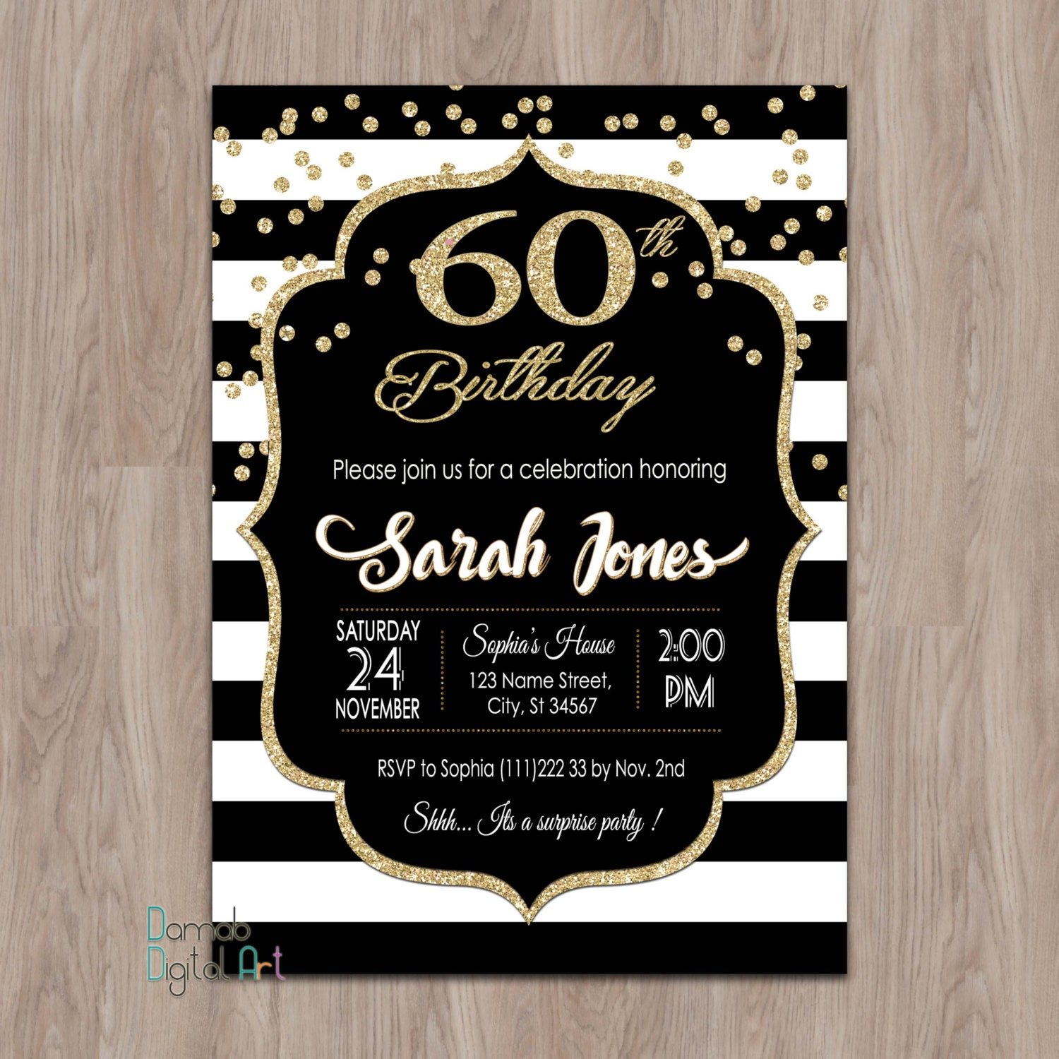 60th birthday invitations 60th birthday invitations for – Invitations for 60th Birthday