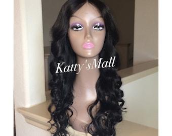Lace closure wig, curly wig, brazilian bodywave wig, brazilian curly wig, lace wig